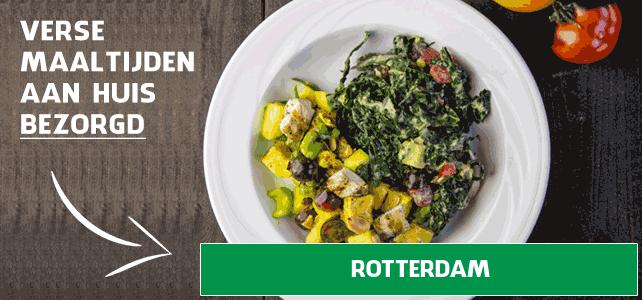 diepvriesmaaltijd bezorgen Rotterdam