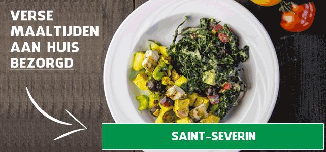 diepvriesmaaltijd bezorgen Saint-Séverin