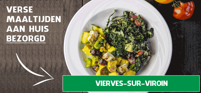 diepvriesmaaltijd bezorgen Vierves-sur-Viroin